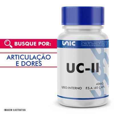 Imagem 1 do produto UC II (COLÁGENO TIPO 2) 40MG 60 Cápsulas