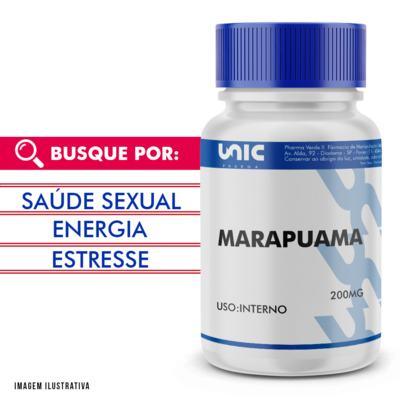 Imagem 1 do produto Marapuama 200mg - 120 Cápsulas