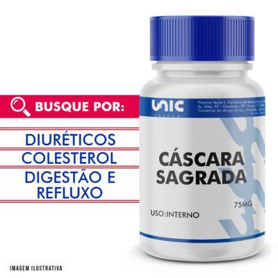 Imagem 1 do produto Cáscara Sagrada 75mg - 60 Cápsulas