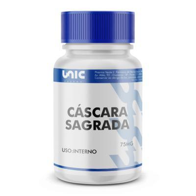 Imagem 2 do produto Cáscara Sagrada 75mg - 60 Cápsulas