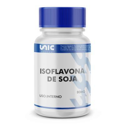 Imagem 2 do produto Isoflavona de soja 80mg - 120 Cápsulas