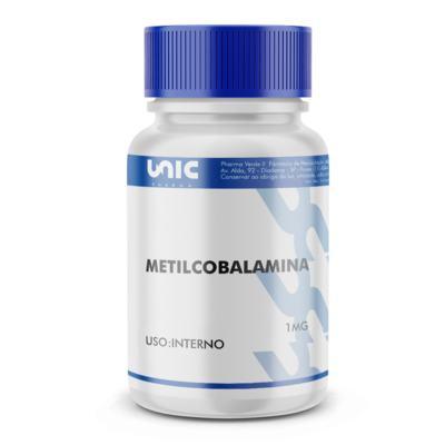 Imagem 2 do produto Metilcobalamina 1mg - 60 Cápsulas