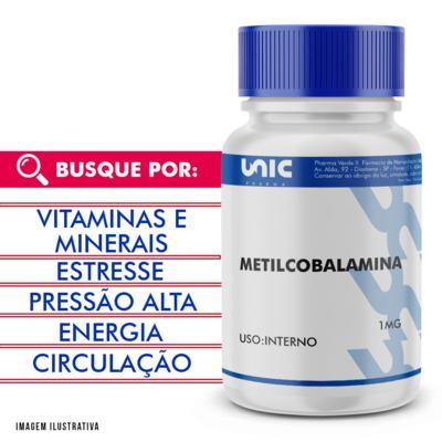 Imagem 1 do produto Metilcobalamina 1mg - 90 Cápsulas