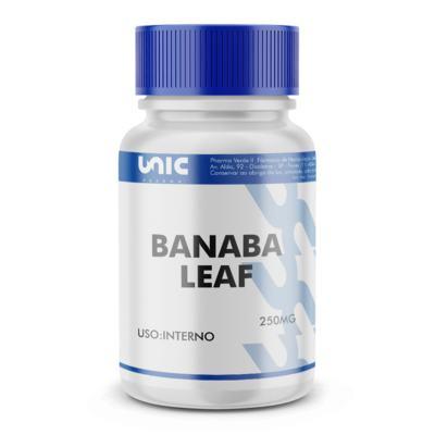 Imagem 2 do produto Banaba Leaf (Lagerstroemia Speciosa) 250mg - 120 Cápsulas