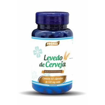 Imagem 1 do produto Levedo De Cerveja - Promel - 60 Caps 510mg