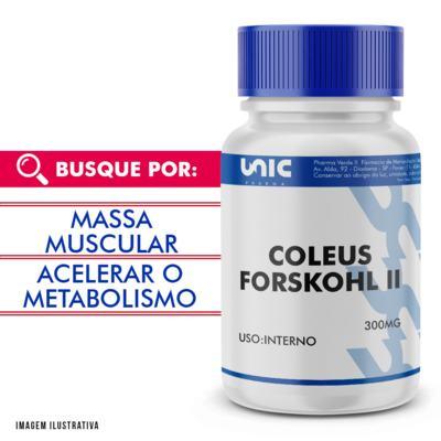 Imagem 1 do produto Coleus forskohlii 300mg - 90 Cápsulas