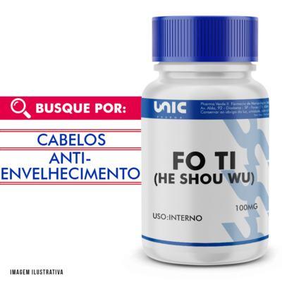 Fo Ti (he shou wu) 100mg - 120 Cápsulas
