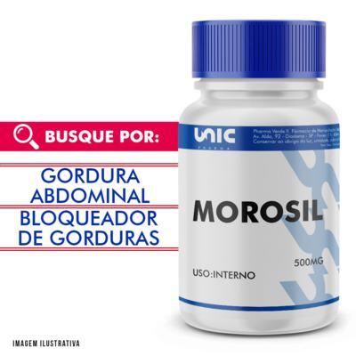 Imagem 1 do produto Morosil 500mg com selo de autenticidade - 120 Cápsulas