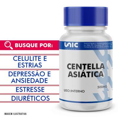 Centella Asiatica 500mg - 120 Cápsulas