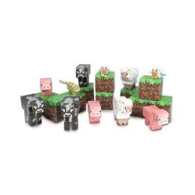 Brinquedo Minecraft Animal Mobs Itens Montaveis Multikids - BR147 - BR147