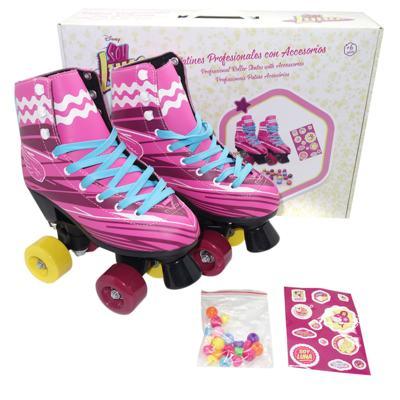 Imagem 1 do produto Patins Sou Luna Roller Skaté 2.0 Tam. 34 Multikids - BR719 - BR719