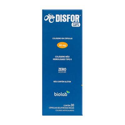 Imagem 1 do produto Disfor Caps 40mg 30 cápsulas gelatinosas moles