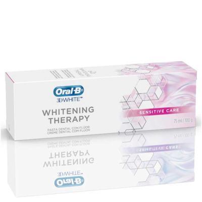 Creme Dental Oral B 3D White Whitening Therapy Sensitive Care 90g