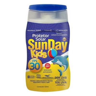 Imagem 1 do produto Protetor Solar Sunday Kids FPS 30 120ml