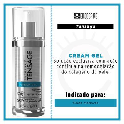 Imagem 2 do produto Rejuvenescedor Facial Endocare - Tensage Gel Cream - 30ml