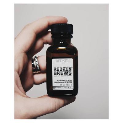 Imagem 3 do produto Óleo para Barba e Cabelos Redken - Brews Beard and Skin Oil - 30ml