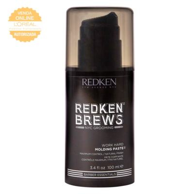 Imagem 3 do produto Pasta Modeladora Redken Brews Work Hard - Pasta Modeladora Redken Brews Work Hard 100ml