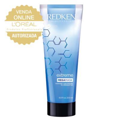 Imagem 3 do produto Máscara de Hidratação Mega Mask Redken Extreme - 200ml