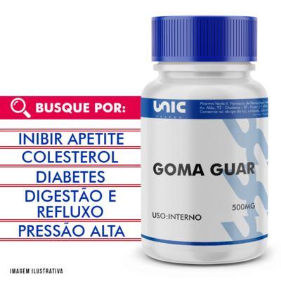 Goma Guar 500mg - 90 Cápsulas