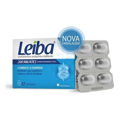 Imagem 1 do produto Leiba 200MI 12 cápsulas