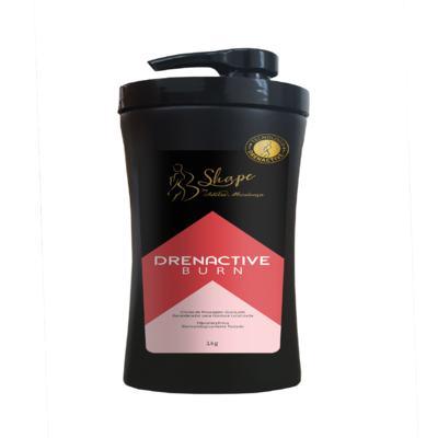 Imagem 1 do produto Drenactive Burn - Creme de Massagem Avançado Remodelador para Gordura Localizada - 1kg