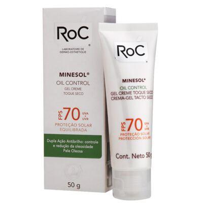 Imagem 2 do produto Minesol Oil Control Fps 70 Roc - Protetor Solar - 50g