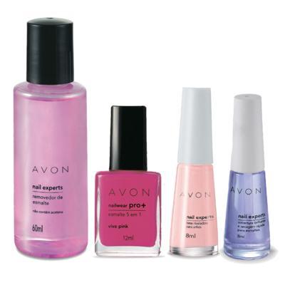Kit Completo Unhas Nailwear Pró+ Esmalte Viva Pink