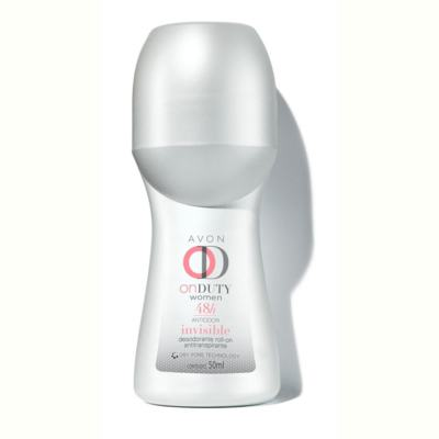 Desodorante Roll-on On Duty Invisible 48h Feminino 50ml
