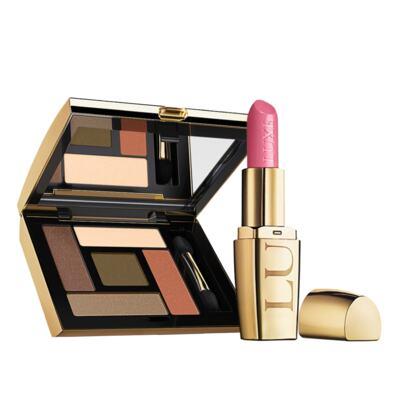 Imagem 1 do produto Kit Precioso: Batom Safira Rosa + Sombra para olhos Ouro Terracota