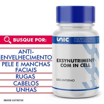 Exsynutriment com In cell com selo de autenticidade - 120 Cápsulas
