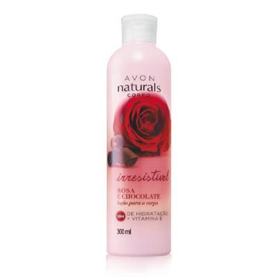 Imagem 1 do produto Avon Naturals Loção para o corpo Rosa e Chocolate 300ml