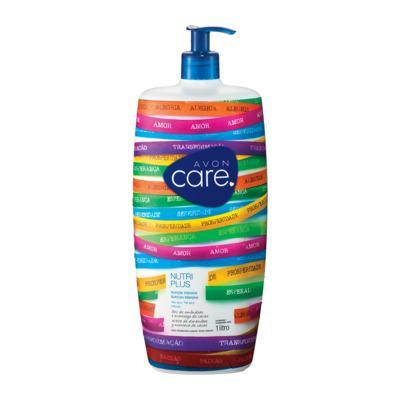Imagem 1 do produto Loção Desodorante Corporal Avon Care Nutri Plus Amêndoa e Abacate Senhor do Bonfim - 1L