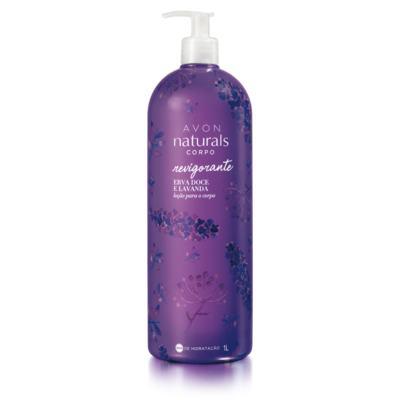 Imagem 1 do produto Avon Naturals Loção Para o Corpo Erva Doce e Lavanda - 1l - Avon Naturals Loção Para o Corpo Erva Doce - 1l