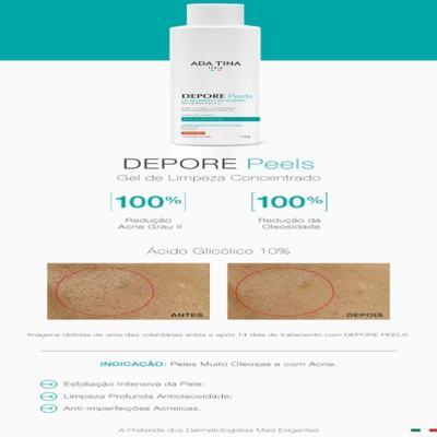 Imagem 5 do produto Depore Peels Ada Tina - Gel de Limpeza - 100g