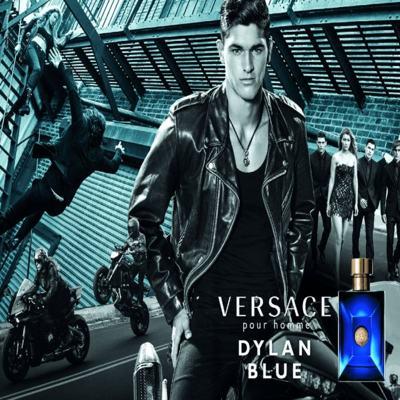Imagem 6 do produto Dylan Blue Pour Homme Versace - Perfume Masculino Eau de Toilette - 50ml