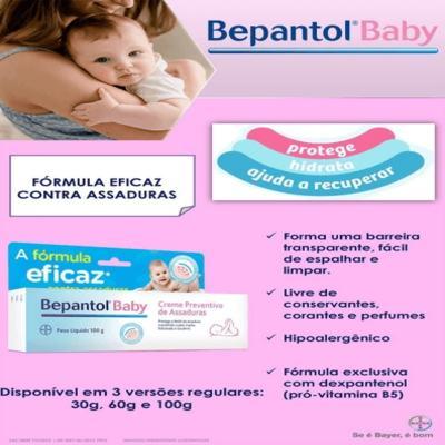 Imagem 4 do produto Bepantol Baby - caixa com 1 bisnaga com 60g de creme de uso dermatológico -