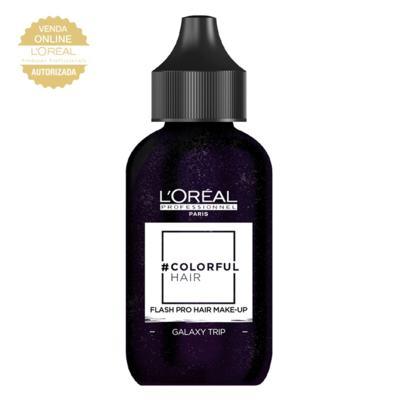 Imagem 1 do produto Maquiagem para Cabelo L'Oréal Professionnel - Colorful Hair FlashPro - Galaxy Trip