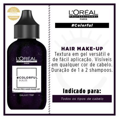 Imagem 3 do produto Maquiagem para Cabelo L'Oréal Professionnel - Colorful Hair FlashPro - Galaxy Trip