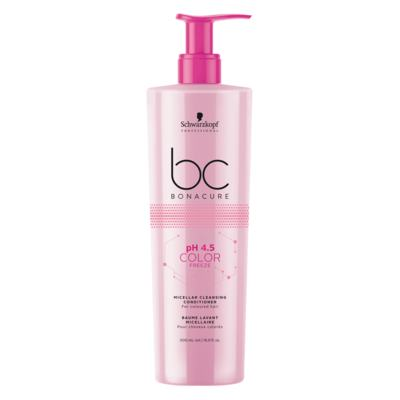 Imagem 1 do produto Schwarzkopf Professional pH 4.5 Color Freeze Micelar Cleansing - Condicionador - 500ml