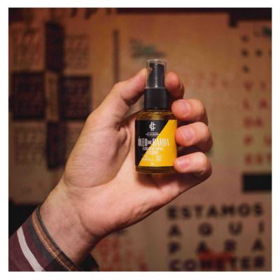 Imagem 3 do produto Óleo de Barba CIA. DA BARBA  e Bastards - Lúpulo - 30ml