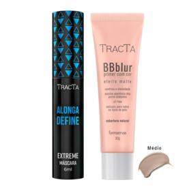 Tracta Extreme BB Blur - Máscara para Cílios + BB Blur Médio - Kit