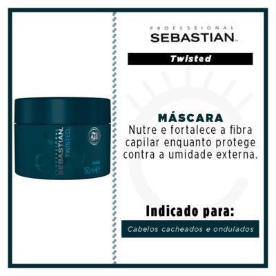 Imagem 2 do produto Máscara de Tratamento Curl Elastic Treatment Sebastian - 150ml