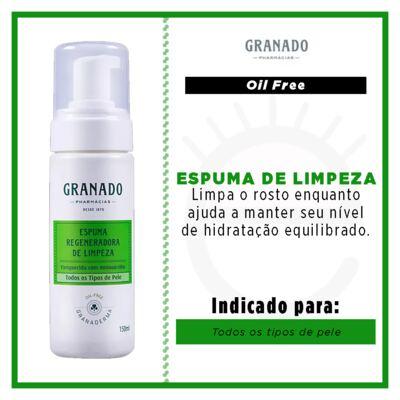 Imagem 2 do produto Espuma Regeneradora de Limpeza Granado -  Granaderma - 150ml