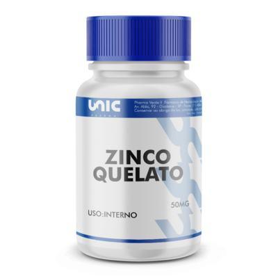 Imagem 2 do produto Zinco quelato 50mg - 120 Cápsulas