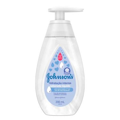 Sabonete Líquido Johnson's Baby - Hidratação Intensa | 200ml