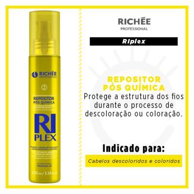 Imagem 3 do produto RiPlex Repositor Pós Quimica Richée Professional - Tratamento - 100ml