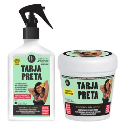 Imagem 1 do produto Kit Tarja Preta Lola Cosmetics - Máscara + Queratina Líquida - Kit
