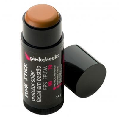 Imagem 2 do produto Protetor Solar Facial Pink Cheeks Pink Stick FPS 90 - 42km Rio