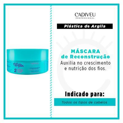Imagem 3 do produto Cadiveu Plástica de Argila - Máscara de Reconstrução - 200g