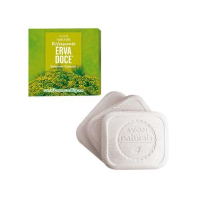Imagem 2 do produto Sabonete Cremoso Naturals Erva Doce - 3 x 80 g -